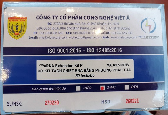 20 countries order Vietnamese Covid-19 test kits