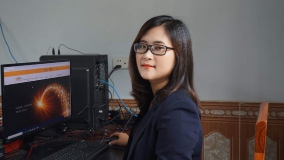 English teacher Ha Anh Phuong of Huong Can Senior High School enters top 50 finalists 2020 of the Global Teacher Prize