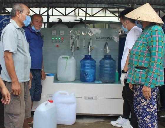 13 salt water purifiers installed in Mekong Delta provinces