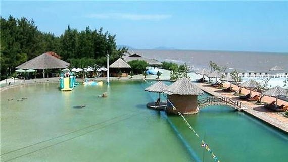 Phuong Nam Can Gio resort is one of establishments which signed up to become quarantine areas (Photo: SGGP)