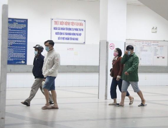 Hospitals no longer allow visitors of the sick (Photo: SGGP)