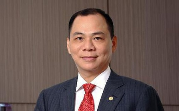 Chairman of Vietnam's largest private conglomerate Vingroup Pham Nhat Vuong
