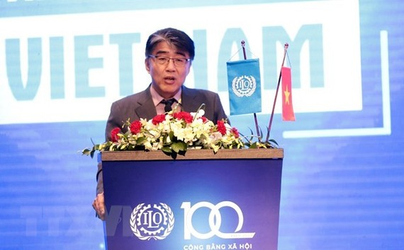 ILO Country Director in Vietnam Chang-Hee Lee (Photo: VNA)