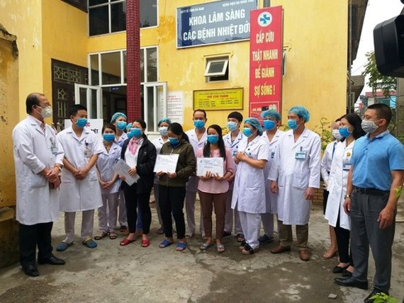 Covid-19 patients were released from hospital ( Illustrative photo)