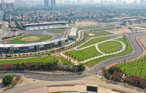 The Hanoi stage of Formula 1 race may take place in November (Photo: VGPC)