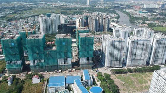 An aerial view of a high-rise condo (Photo: SGGP)