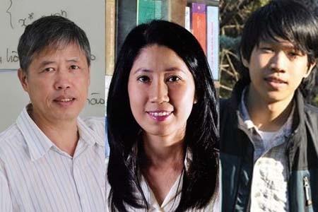 The three scientists winning Ta Quang Buu Awards 2020. (Photo: NGUOILAMBAO.VN)