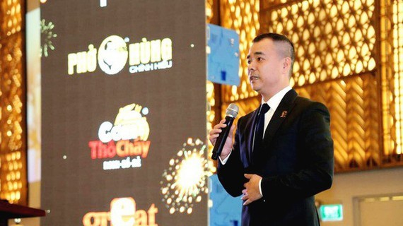 Businessman Huy Nhat , owner of the Mon Hue restaurant chain (Photo: SGGP)