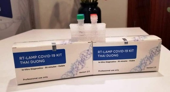 Vietnamese-made Covid-19 test kits are used in European countries (Photo: SGGP)