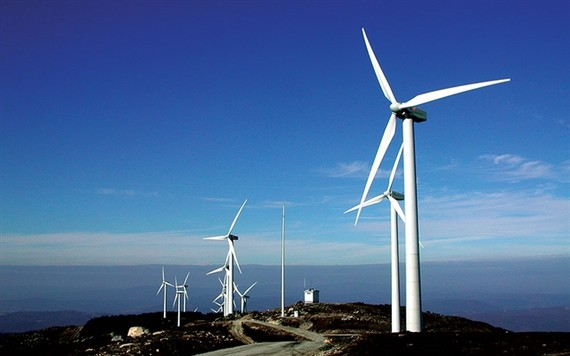 A wind power project in northern province of Ninh Thuan. — Photo evn.com.vn