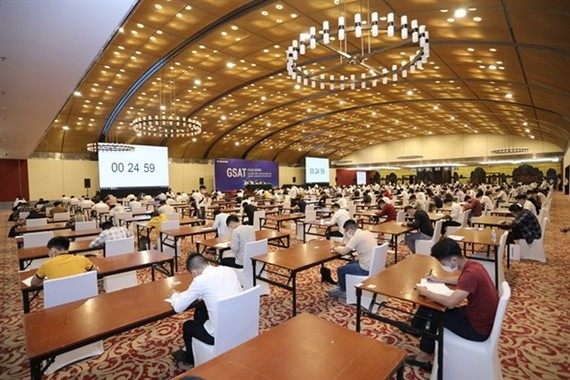 More than 2,000 engineers and bachelor degree holders graduating from universities attend Global Samsung Aptitude Test (Source: Samsung)
