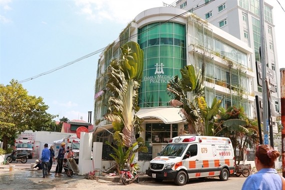 The Family Medical Practice in district 2, HCM City where a 31-year-old man from Indonesia went for a health check. — Photo stc.hoanhap.vn