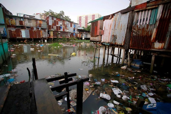 River encroachment in HCMC is rampant (Photo: SGGP)