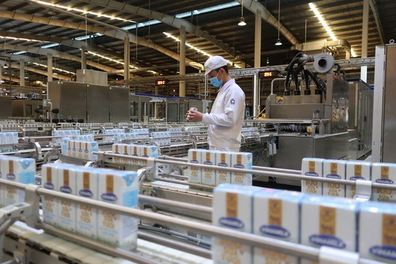 Food processing sector and beverage sector have seen growth (Photo: SGGP)
