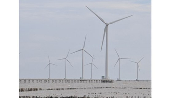 The private sector is actively participating in wind power development (Photo: SGGP)