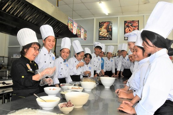 Vocational training schools are not attractive to students (Photo: SGGP)