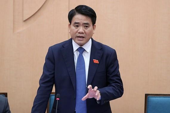 Chairman of Hanoi People's Committee Nguyen Duc Chung (Photo: SGGP)