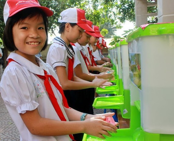 UNICEF proposed Vietnamese government to fund for sanitation, hygiene facilities (Photo: SGGP)