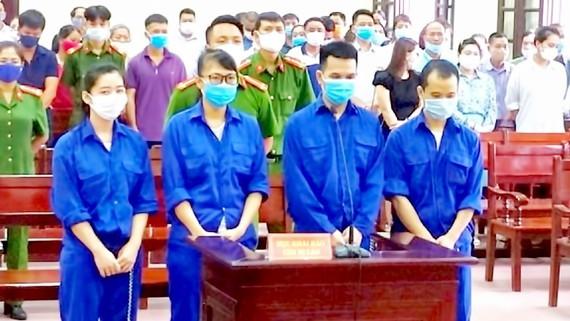 Defendants at the court (Photo: SGGP)