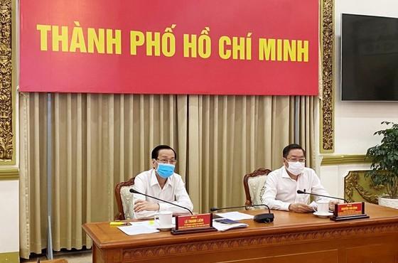 Deputy Chairman Le Thanh Liem at the meeting (Photo: SGGP)