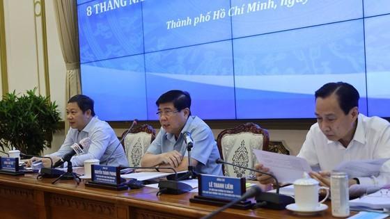 Chairman Phong at the meeting (Photo: SGGP)
