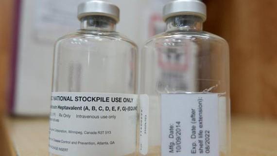 The WHO-sponsored drug bottle