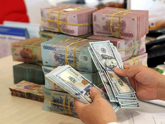 Reference exchange rate up VND2 at week's beginning