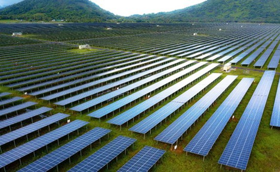 The first stage of Sao Mai Solar Power Plant achieved positive results. (Photo: SGGP)