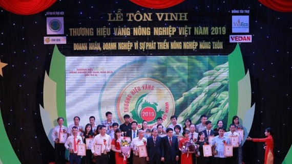 General Council of Agriculture honors 80 outstanding agriculture brand names