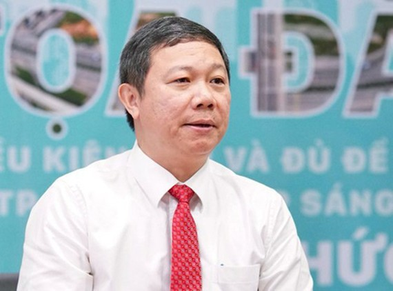 Vice Chairman of HCMC People's Committee Duong Anh Duc. (Photo: SGGP)