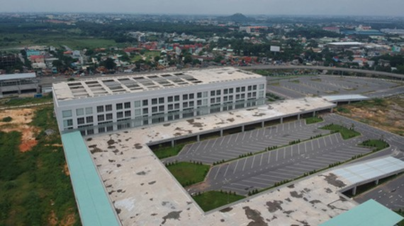 The new Eastern Coach Station in District 9 of HCMC. (Photo: SGGP)
