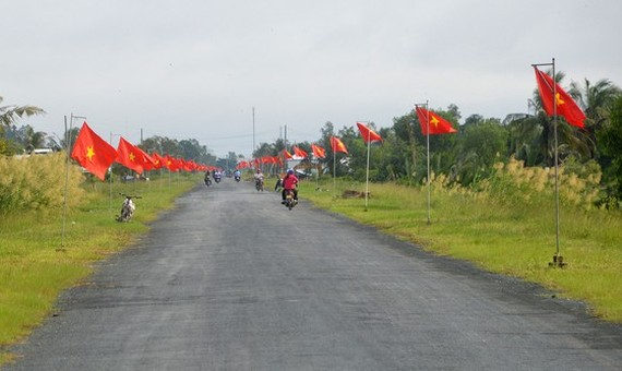 The new road is open to traffic (Photo: SGGP)