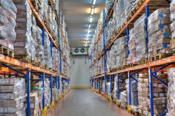 Cold storage availability in HCM City is shrinking as goods pile up due to lack of demand due to the COVID-19 pandemic. (Photo:VNA)