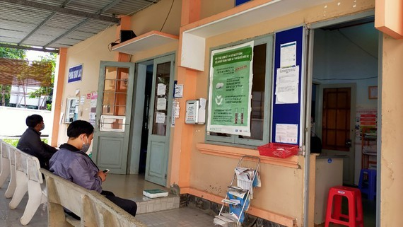 A medical clinic for HIV consultation in Thuan An Town of Binh Duogn Province (Photo: SGGP)