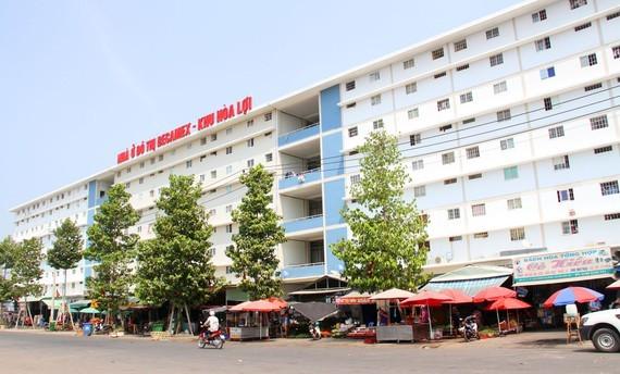 A social apartment condo in Binh Duong (Photo: SGGP)