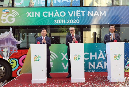 On November 30, Viettel formally piloted commercial 5G services. (Photo: VTT)