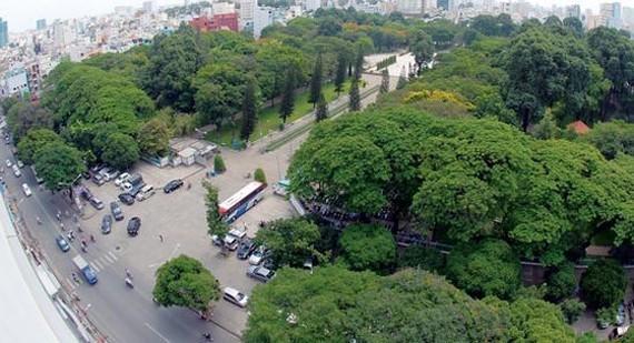 A green corner of Ho Chi Minh City (Photo: SGGP)