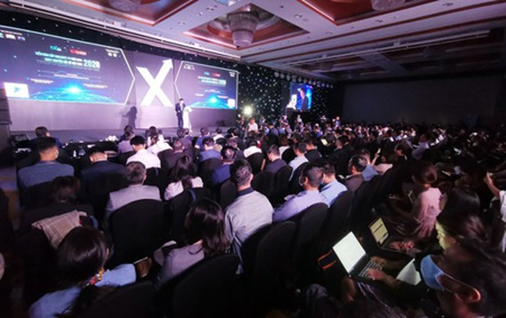 The opening ceremony of DX Day Vietnam 2020. (Photo: SGGP)
