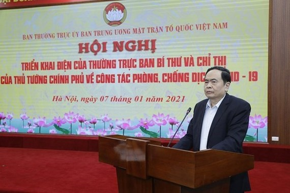 President of the VFF Central Committee Tran Thanh Man (Photo: VNA)