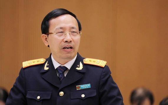 Director General of the Vietnam Customs Nguyen Van Can (Photo: SGGP)