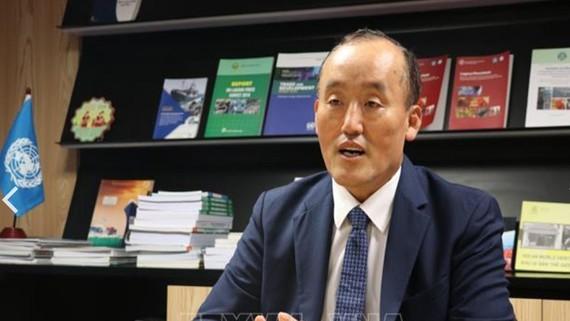 Representative of the World Health Organisation (WHO) to Vietnam Kidong Park.— VNA/VNS Photo