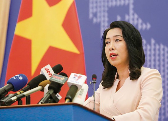 Foreign Ministry spokesperson Le Thi Thu Hang (Photo: BAOQUOCTE.VN)