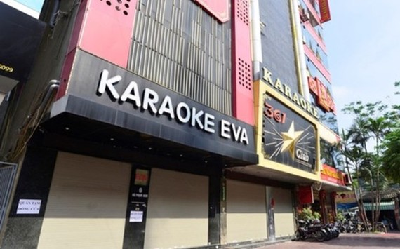 Bars, karaoke parlors, and discotheques in Hanoi must be closed from February 1 (Photo: SGGP)