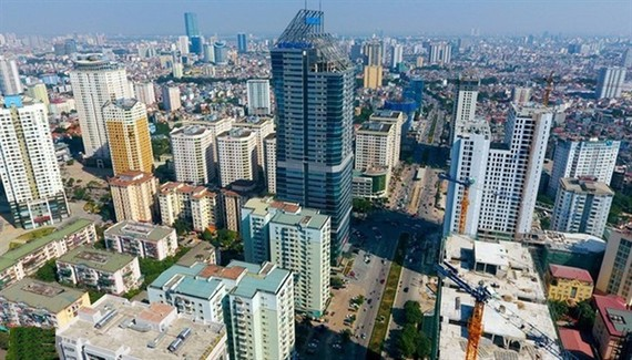 A view of Hanoi . In 2020, the real estate sector contributed about 4.42 percent of the national GDP. Photo vneconomy.vn