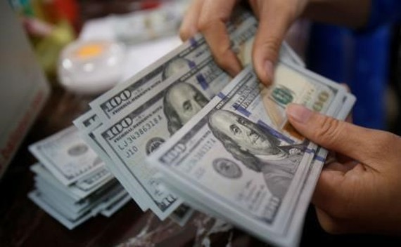 The daily reference exchange rate was set at 23,151 VND/USD on March 2 (Photo: VNA)