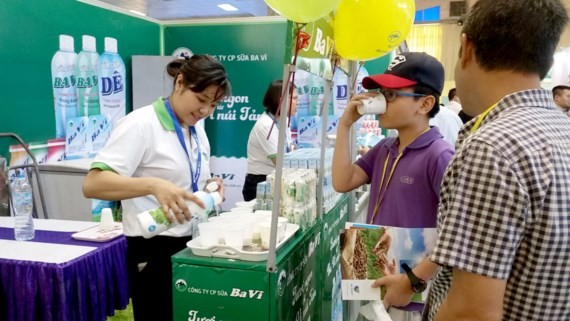 Vietnam dairy 2017 was opened this morning