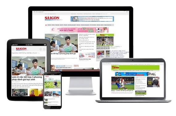 Saigon Giai Phong Newspaper uses www.sggp.org.vn for its web portal (Photo:SGGP)