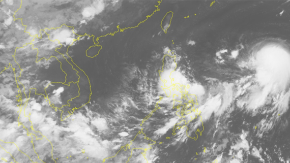 Typhoon Talim appears in offshore Philippines