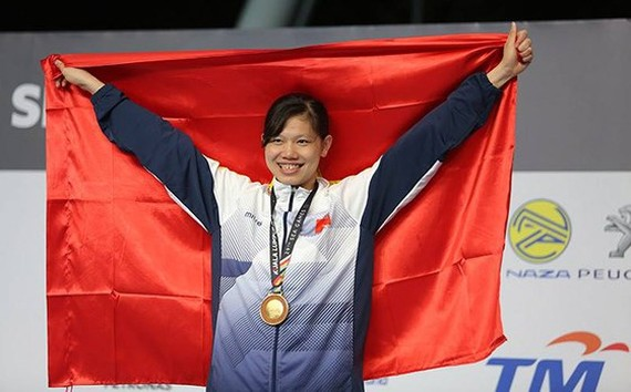 Anh Vien ranks 1st position in list of Vietnam's top most outstanding athletes
