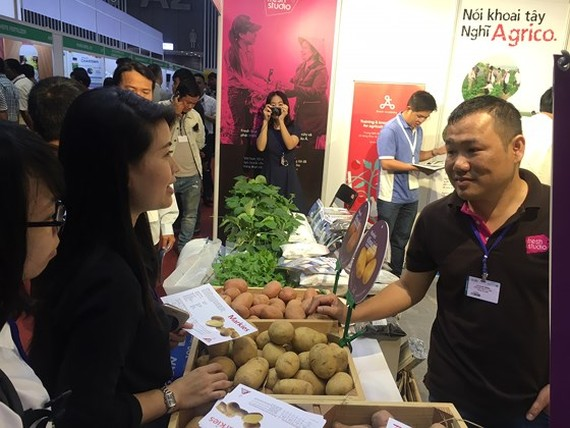Agricultural exhibitions take place at Saigon Exhibition and Convention Center  from March 14-16